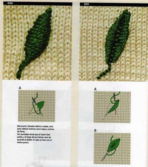 Украшаем вышивкой трикотажные кофточки