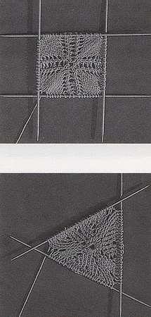 вязание скатерти красивая