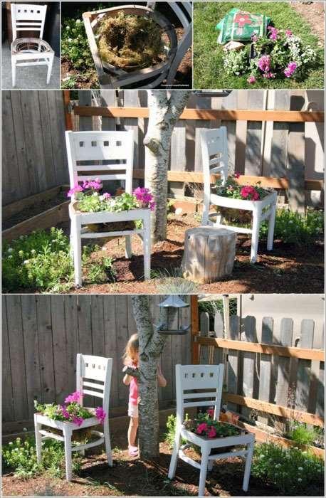 10 остроумных идей реставрации старых стульев