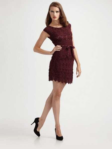 Платье от Диора. Схема
