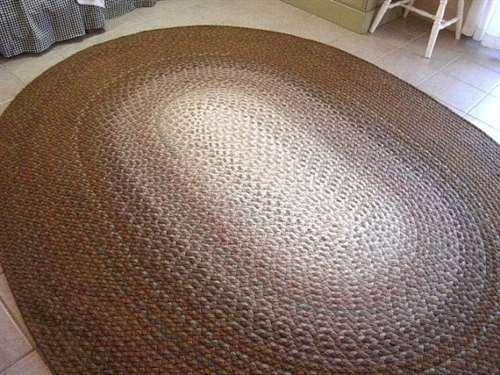 Нереальной красоты ковры из футболочной пряжи