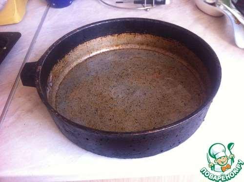 Как очистить старую сковороду. Дешево и сердито!