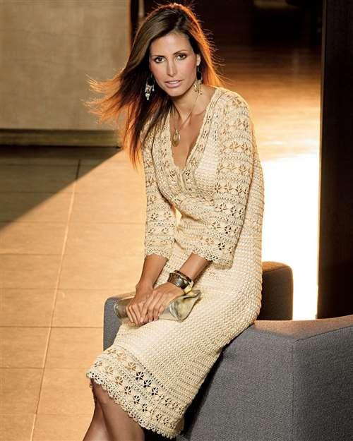 Платье крючком от Karen Millen