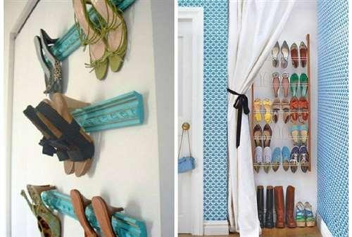 7 способов стильно хранить обувь