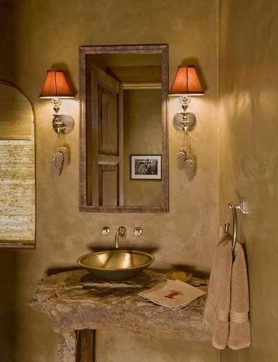 Рустика Ванная комната Rustic Bathroom