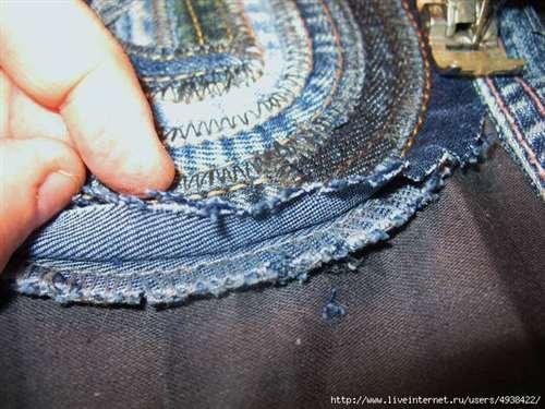6cc9183bee5 Шьем из джинсовых швов. Оригинальный МК!
