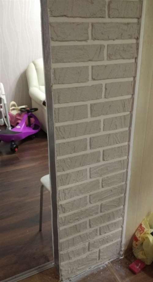 Самый простой способ имитировать кирпичную стену