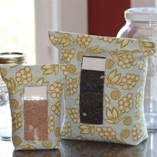 Мешочки для сыпучих продуктов. Идея
