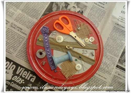 Швейный стимпанк) Декор шкатулки швейными принадлежностями. Мастер-класс (8) (656x468, 301Kb)
