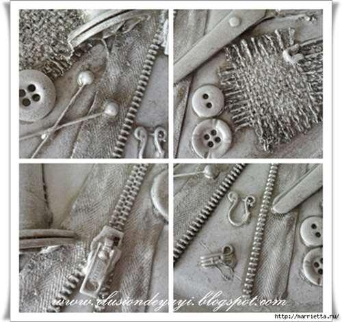 Швейный стимпанк) Декор шкатулки швейными принадлежностями. Мастер-класс (2) (640x603, 247Kb)